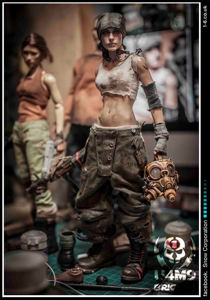 1/6 custom figure by Dorgmal Snow (Snow Corporation)