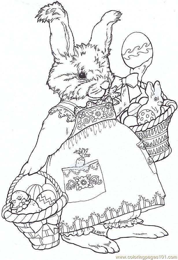 Lapin Pour Paques Malvorlagen Fruhling Malvorlagen Tiere Ausmalbilder Ostern