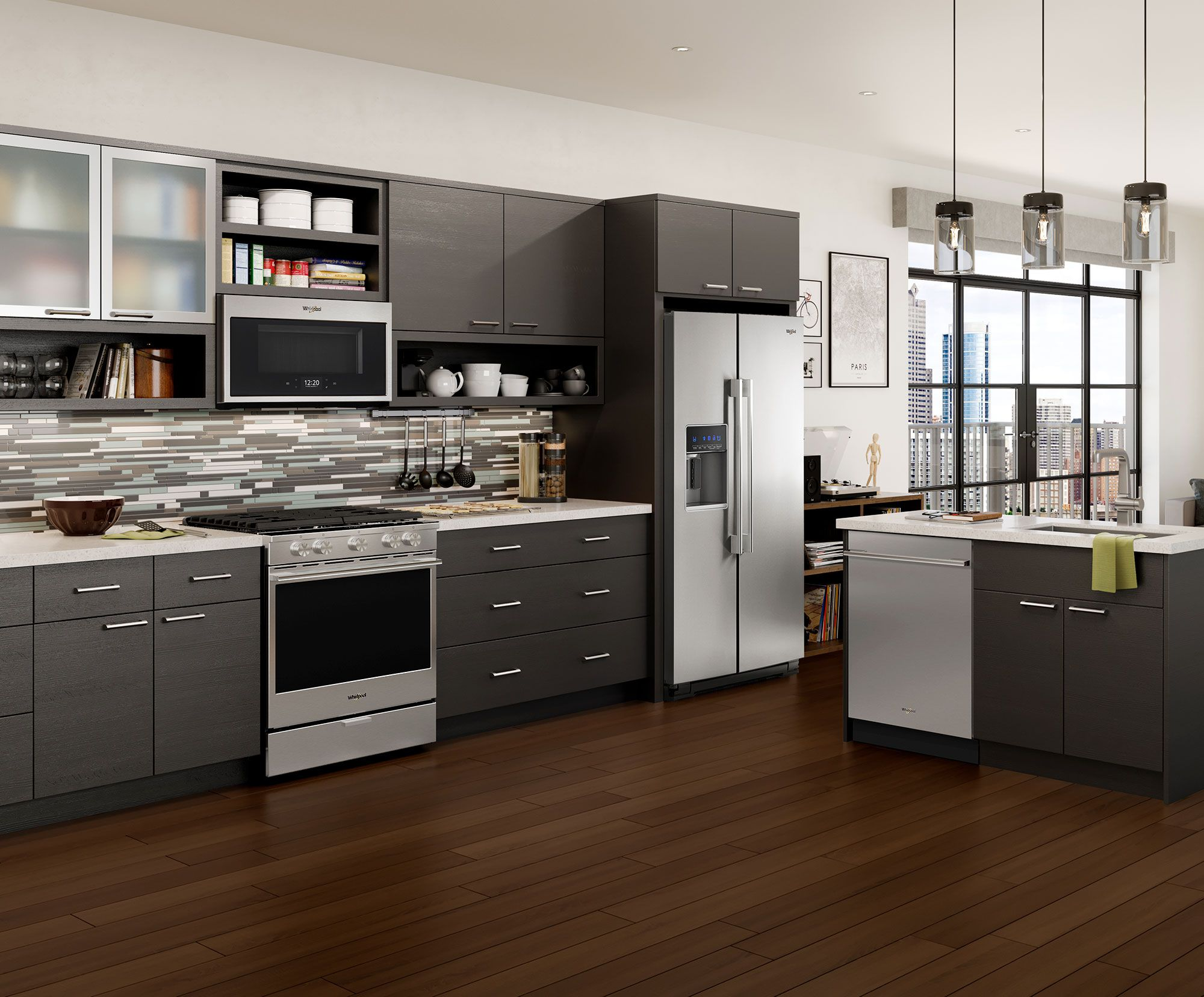 the new whirlpool appliances help you get your kitchen connected they are wifi enabled with on kitchen appliances id=36788