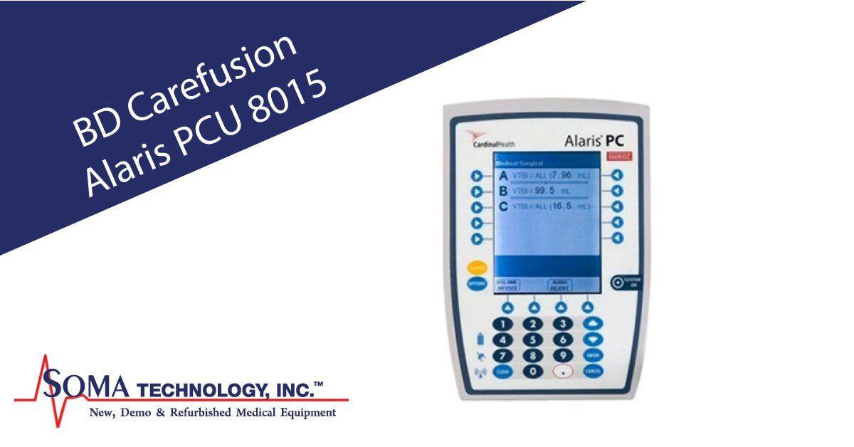 BD Carefusion Alaris PCU 8015 Infusion Pump   Infusion Pumps