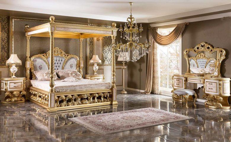 Klasik Yatak Odasi Takimlari Bed Linens Luxury Luxury Bedroom Sets Luxurious Bedrooms