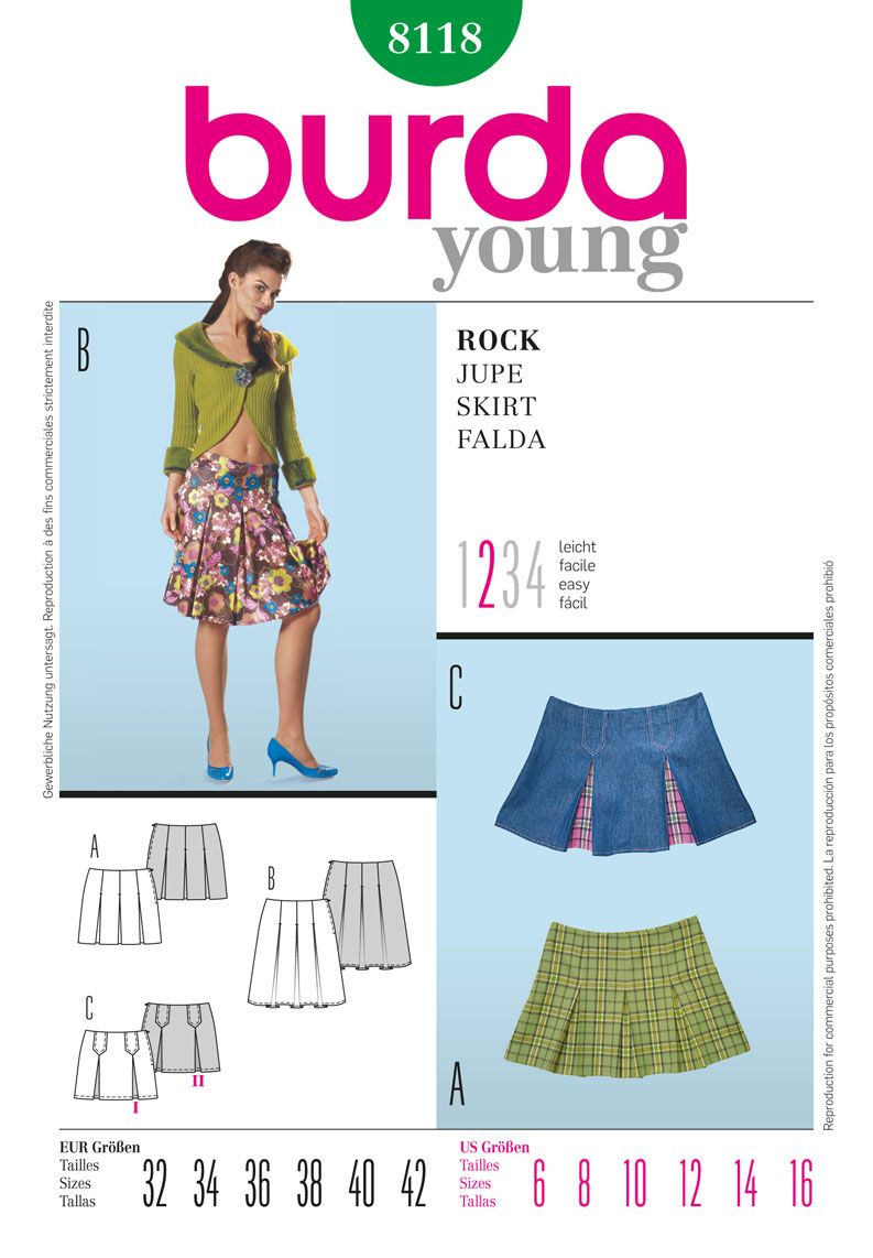 d64ffa9ef7 A pattern for Velma's Red Pleated Skirt   Simplicity Creative Group - Burda  Style, Skirt Sewing Pattern. #halloween
