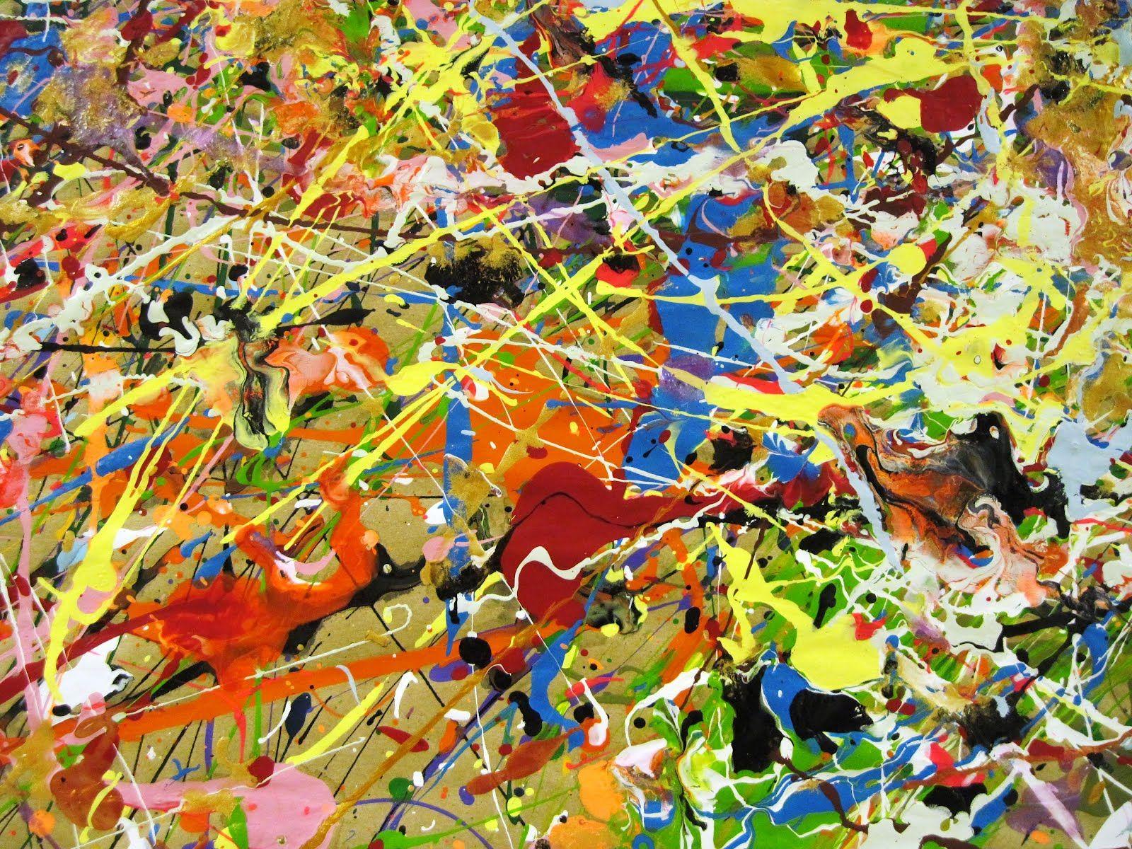 Jackson pollock paintings jackson pollock success for Famous pollock paintings