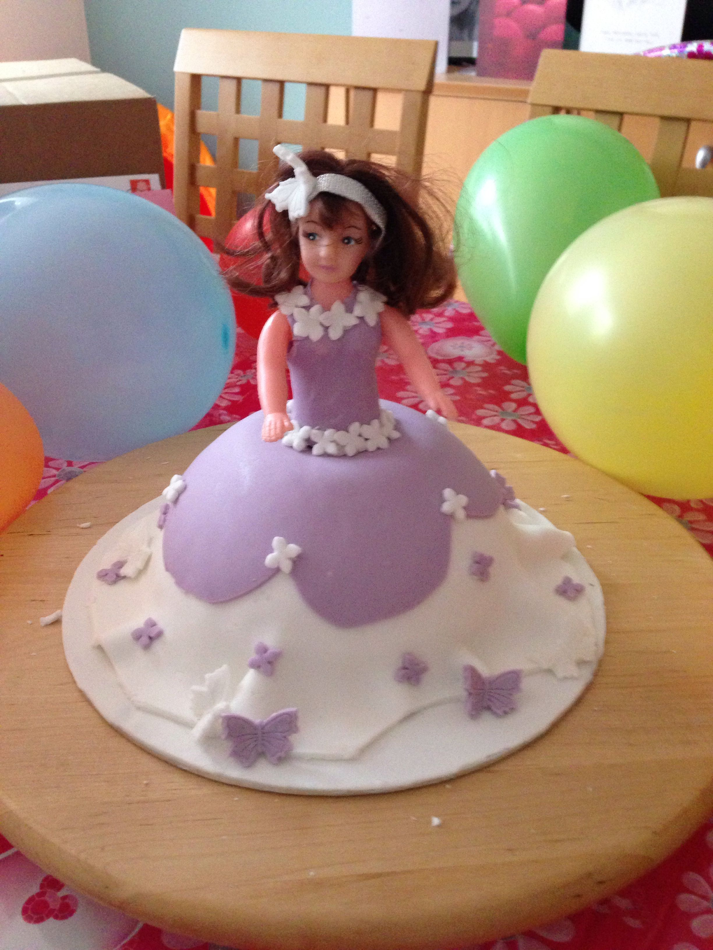 Princess cake first attempt