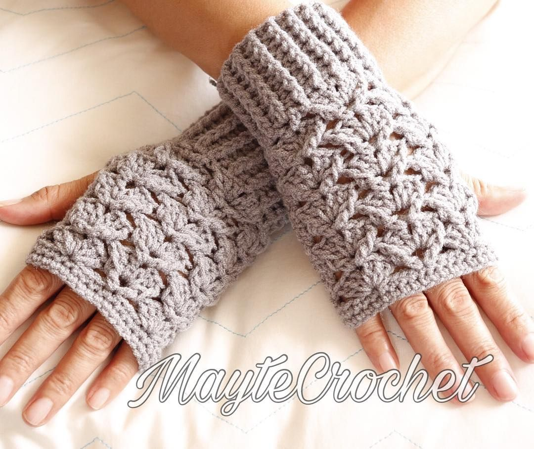 Stylish And Easy Free Crochet Gloves With Fingers Pattern Images For 2019 Page 2 Of 42 Daily Crochet Crochet Fingerless Gloves Free Pattern Fingerless Gloves Crochet Pattern Crochet Gloves Pattern