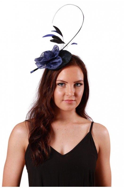 7d7d25edf Abigail Fascinator Blue- Women's Fascinators For Hair- Visit for ...