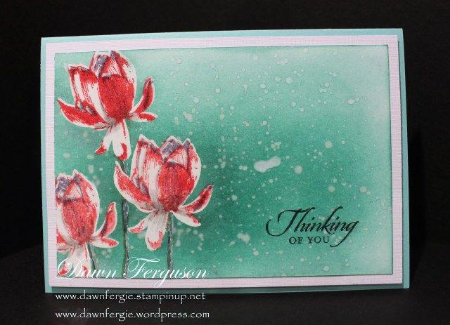 Lotus Blossom Free Stamp Set Flowers Lotus Flower Cards
