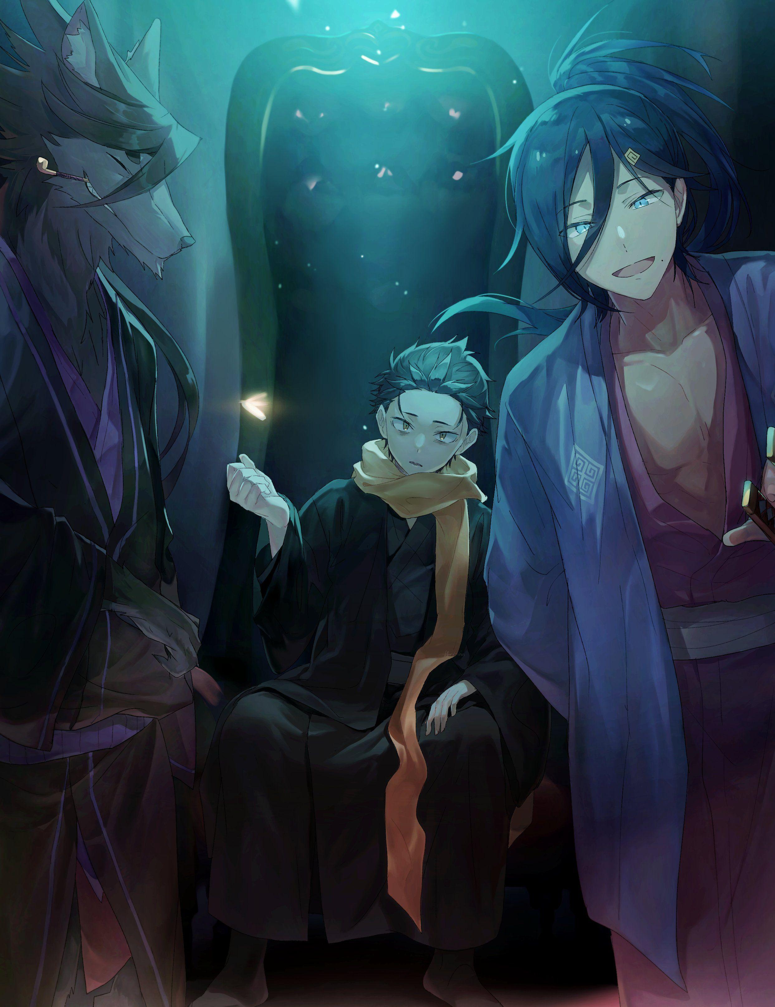 rezero anime animeart animeartwork animestyle