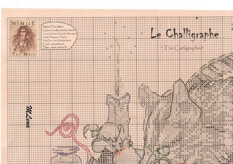 La Challigraphe 3
