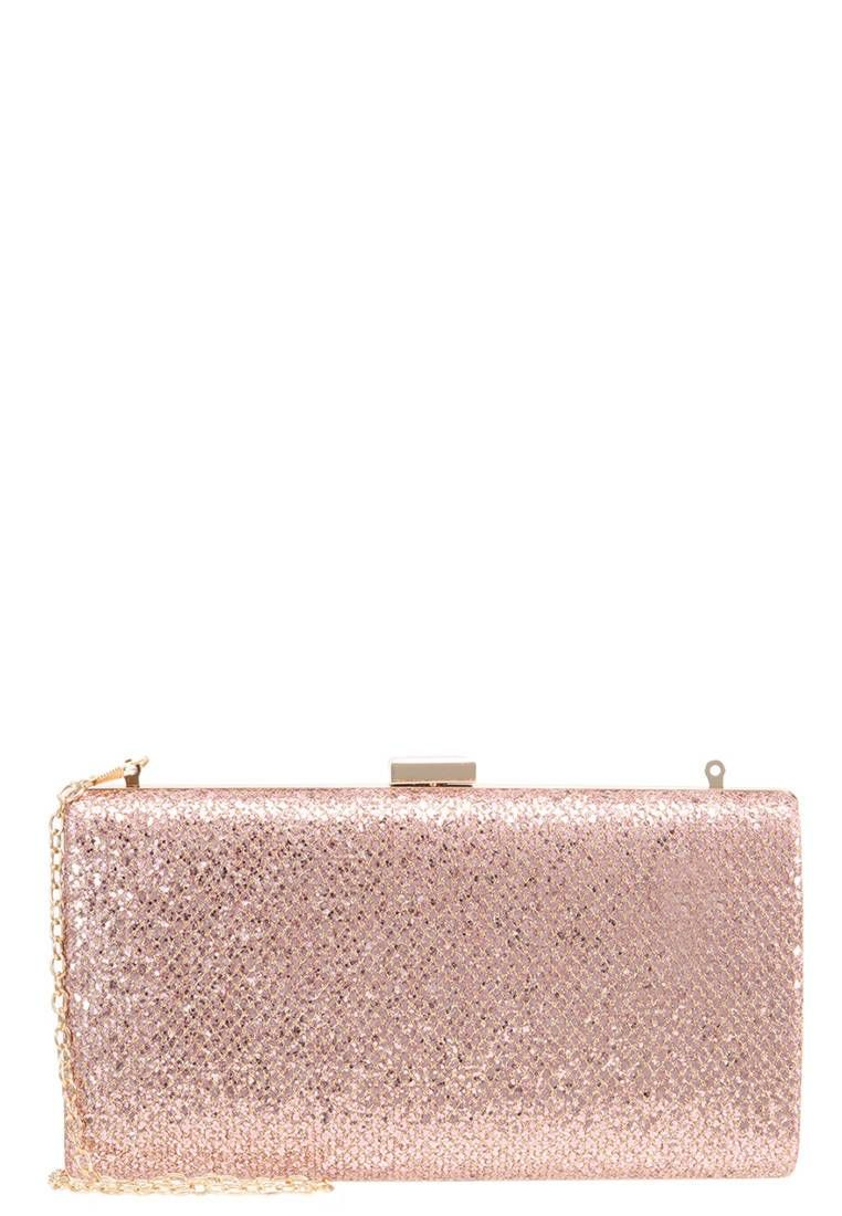 504429535e Clutch - rose. Lining:Polyester. carrying handle:23.0