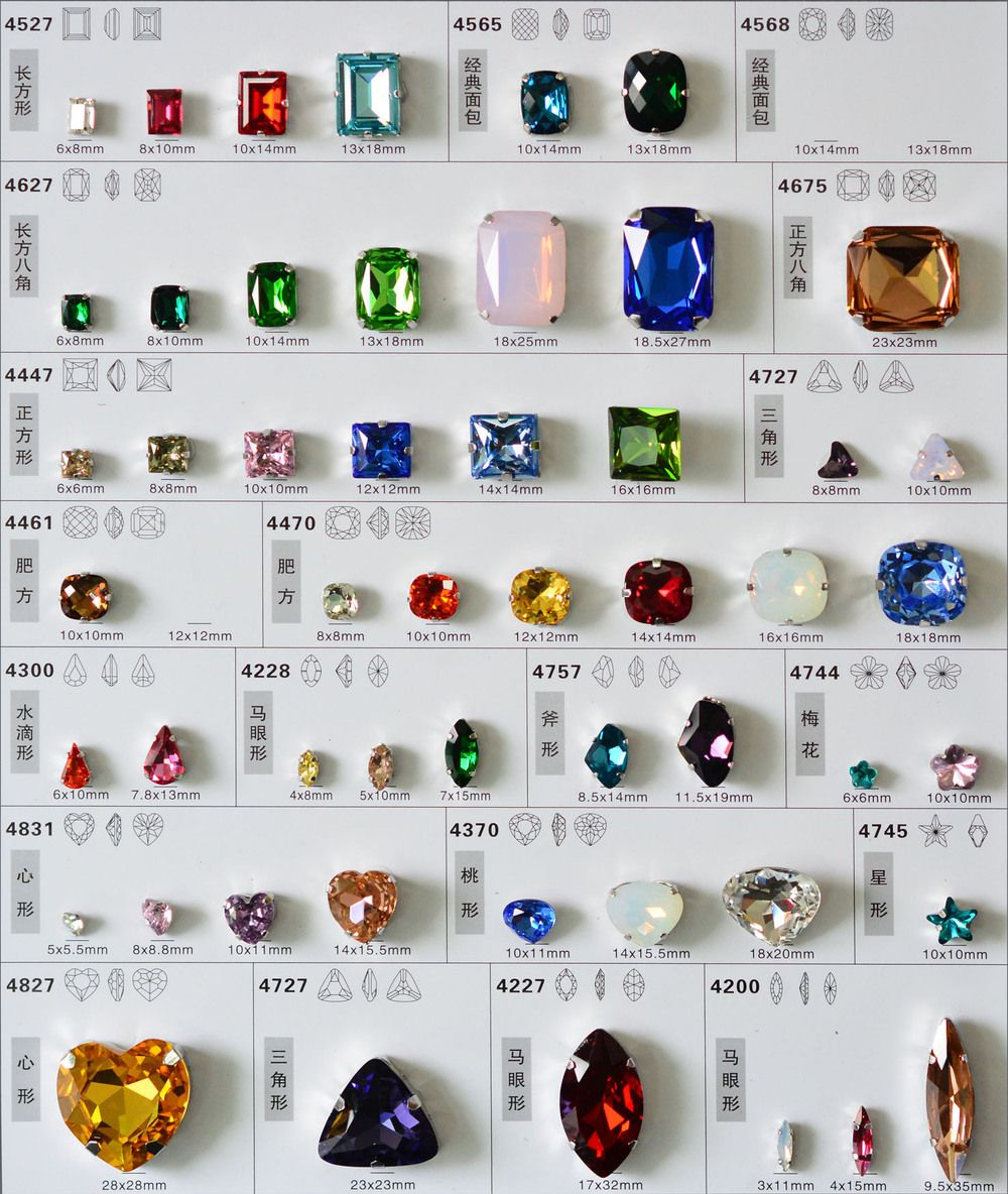Blingbling crystal fancy stone jewelry crystal beads