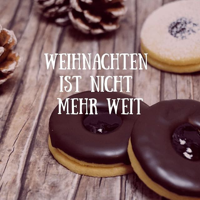 4. Dezember: Sacher-Plätzchen - linalsbackhimmel.de #pumpkinpiecookies