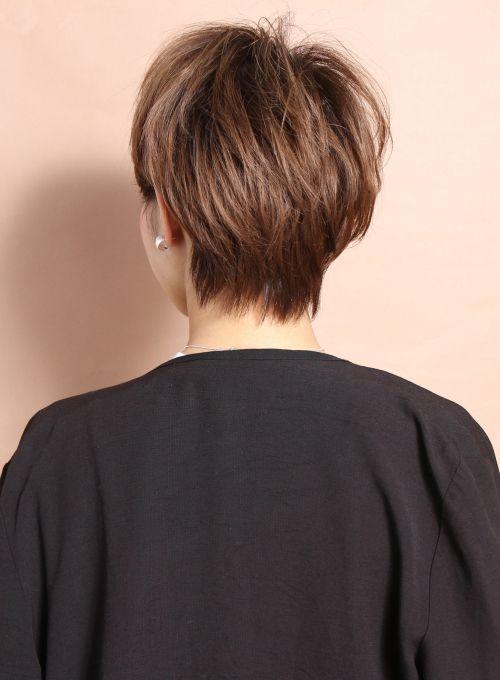 【ショートヘア】大人のコンパクトエアリーショート/CIRCUS by BEAUTRIUMの髪型・ヘアスタイル・ヘアカタログ|2016冬春