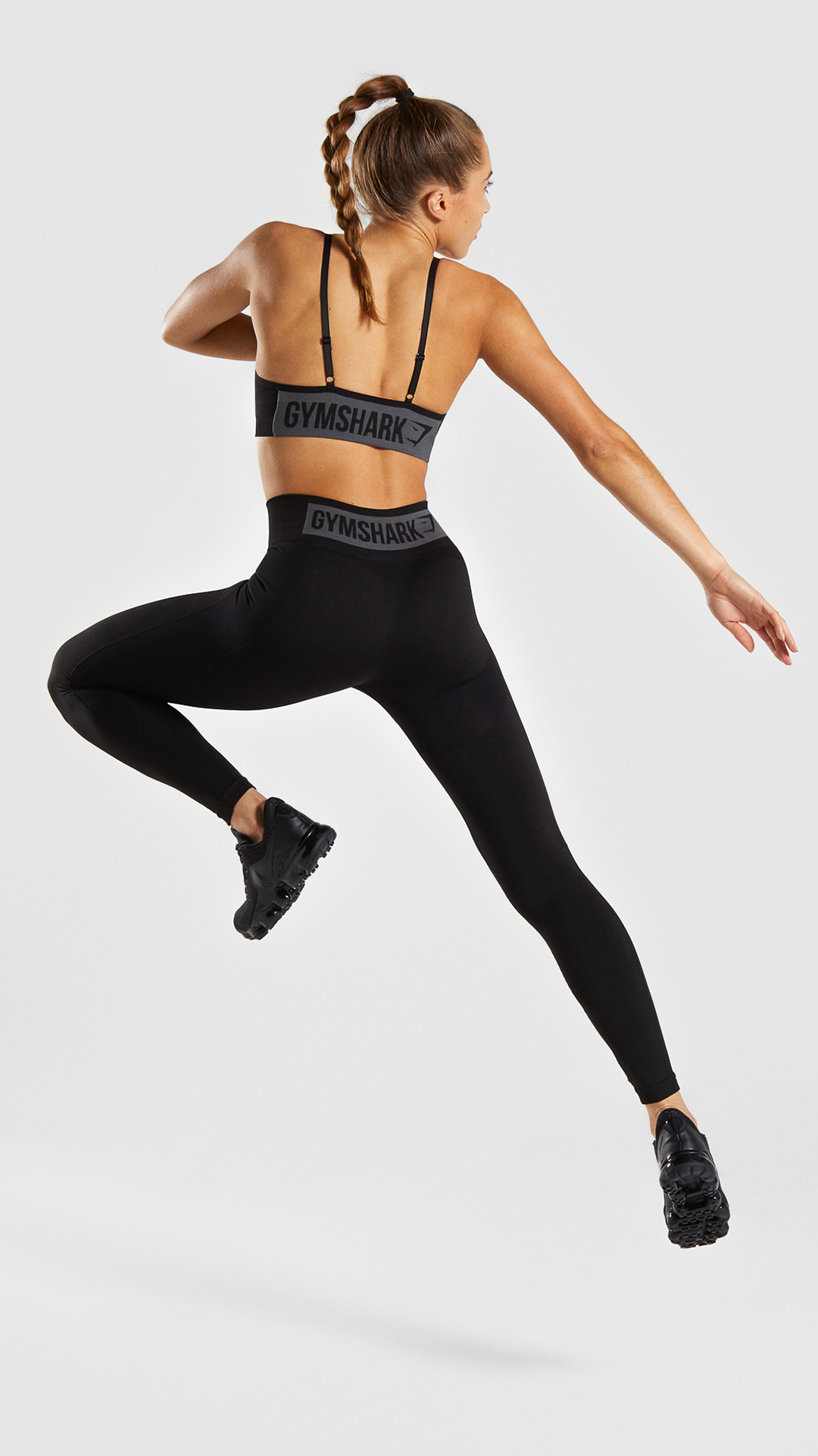 b8e1498474 The Flex High Waisted Leggings, Black. Be bold and make a statement in this