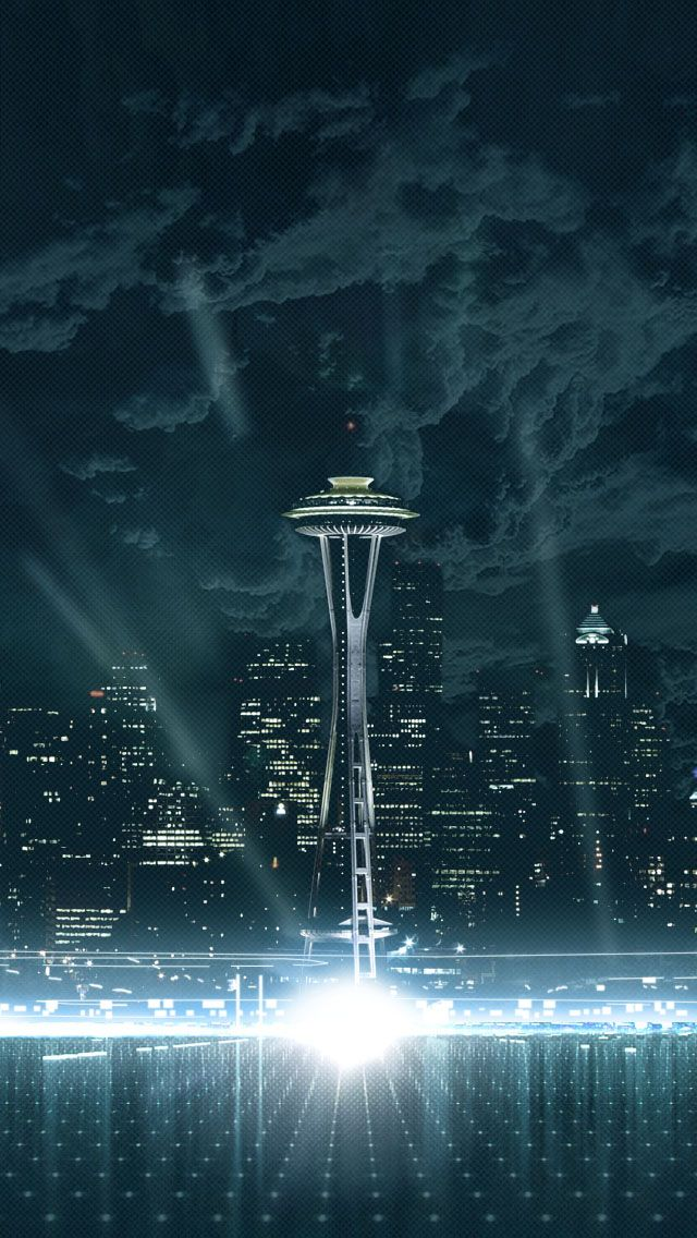 Seattle Skyline Seattle wallpaper, Cool places to visit