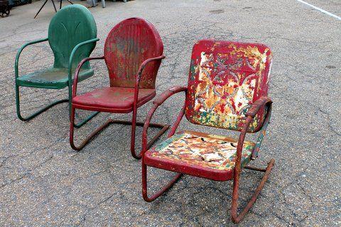 Antique Metal Chairs For Sale Arm Chair Caddy Vintage Lawn That Come In A Variety Of Style And Colors Price 40 Each