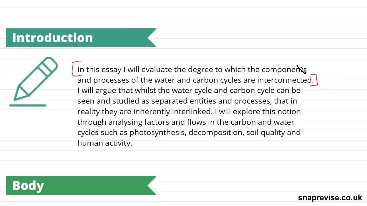Water & Carbon Cycle: Case Study Exam (Part 2) | A-level