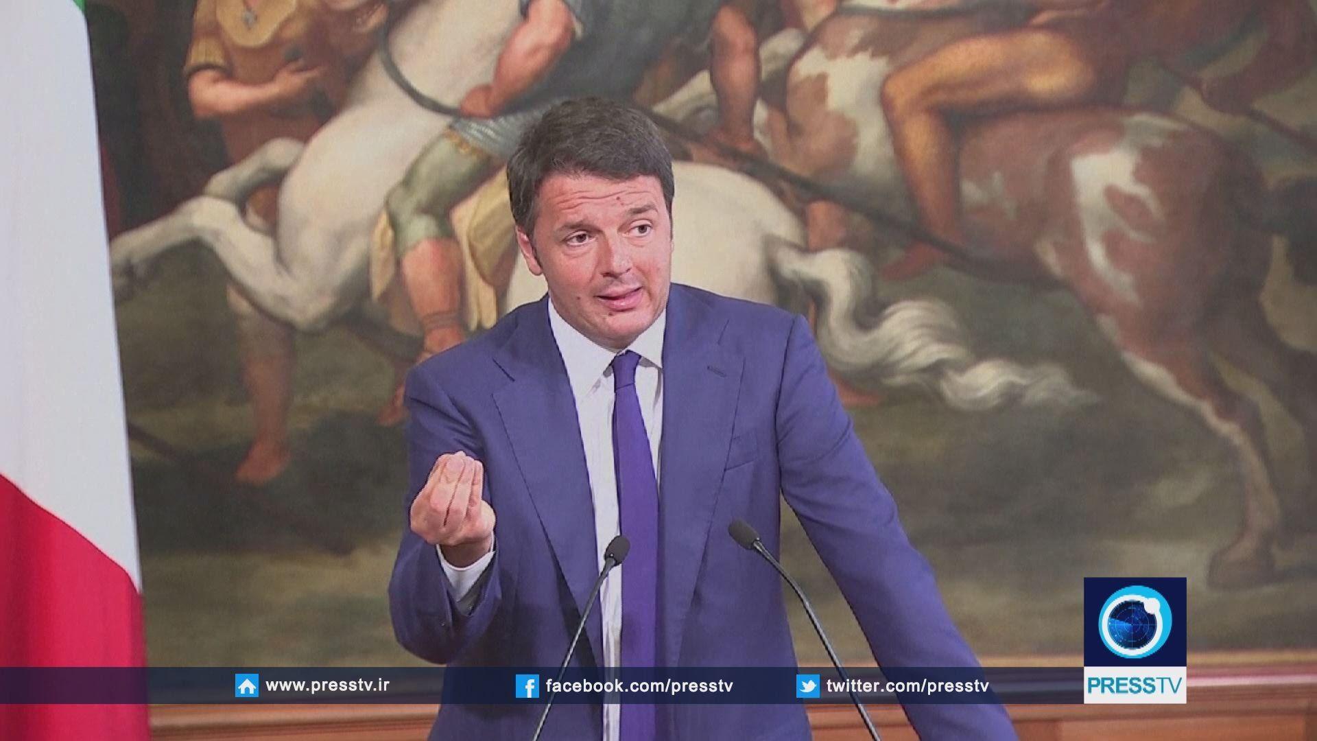 Italian PM compares EU to sinking ship
