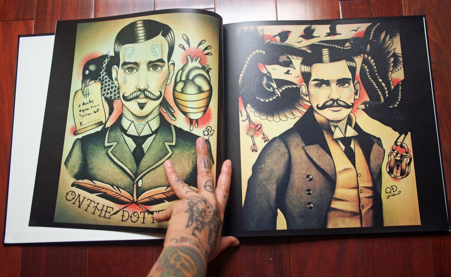 Quyen Dinh Tattoo Flash Book 2012 Collection By Parlortattooprints