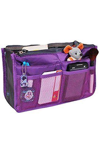 BeautyLife Handbag Organiser ,Organizer Large, Insert, Travel Bag, 12 Pockets (Purple) Keral http://www.amazon.co.uk/dp/B00FXLH96O/ref=cm_sw_r_pi_dp_C3o1vb0CV4TYZ