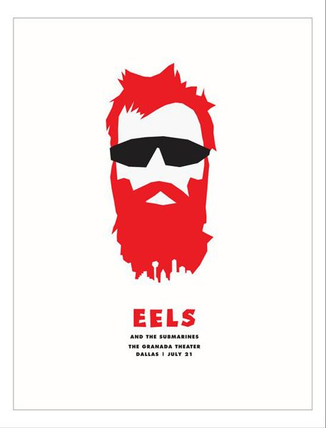 Gigposters Com Eels Submarines Concert Poster Art Music Album Art Gig Posters