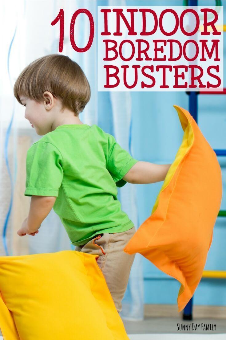 indoor activities for kids. 10 Indoor Boredom Busters Activities For Kids
