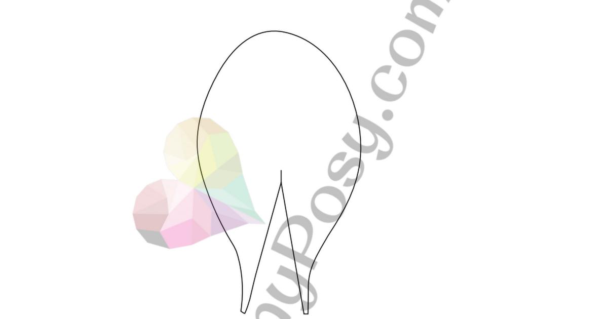 paper tulip template dreamyposy pdf paper flowers pinterest