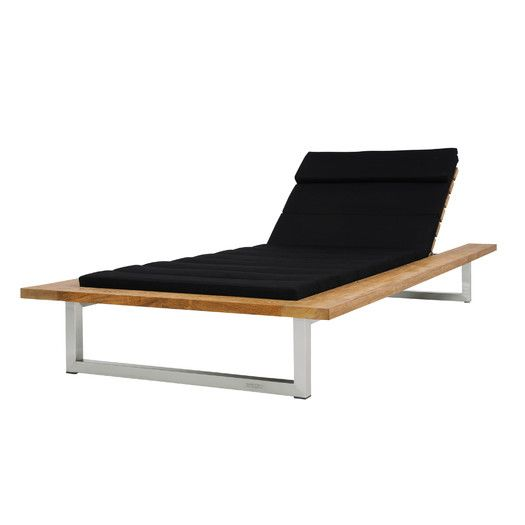 modern mamagreen oko chaise lounger with cushion allmodern