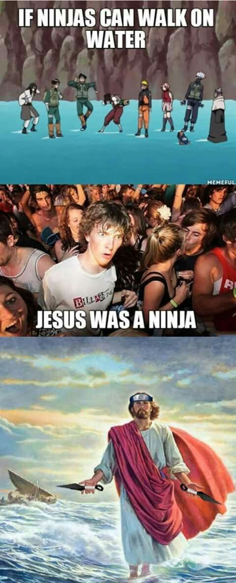 Photo of If ninjas can walk on water, Jesus was a ninja – Healthy Skin Care