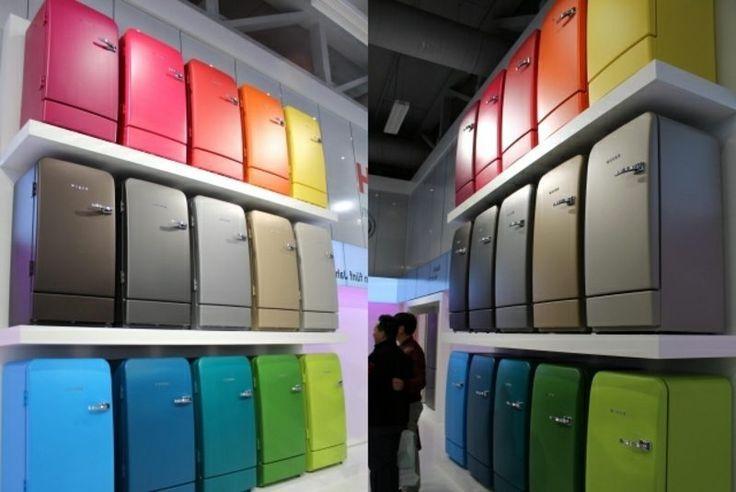 Kühlschrank Bekleben Retro : Bosch retro kühlschrank als akzent in der kücheneinrichtung: 20