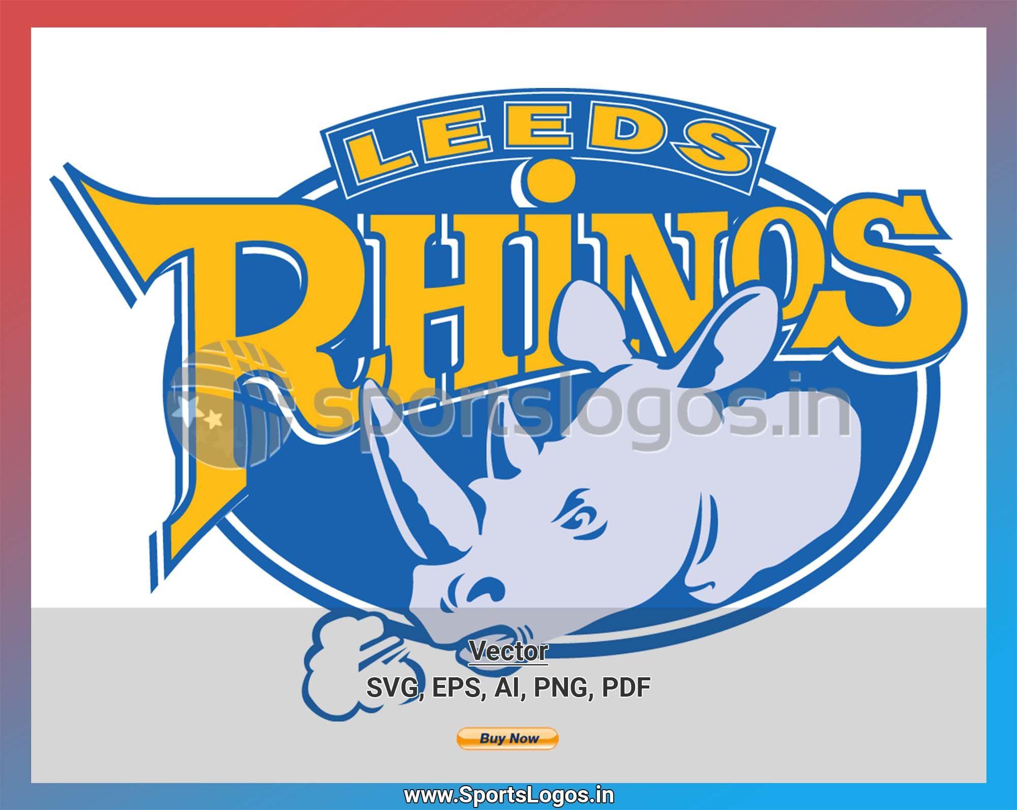 Leeds Rhinos Misc. Sports Vector SVG Logo in 5 formats