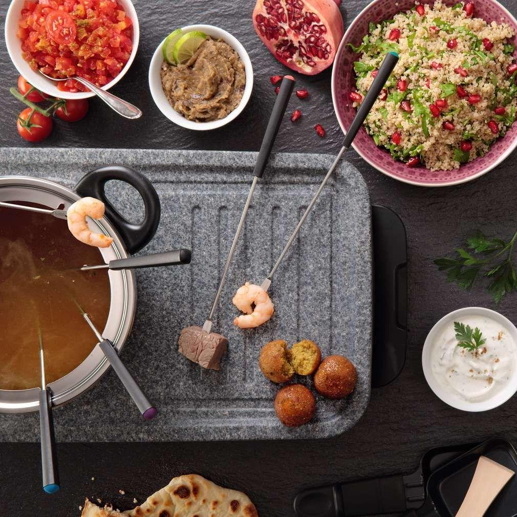 Orientalisches Fondue | Rezept | Lebensmittel essen, Essen