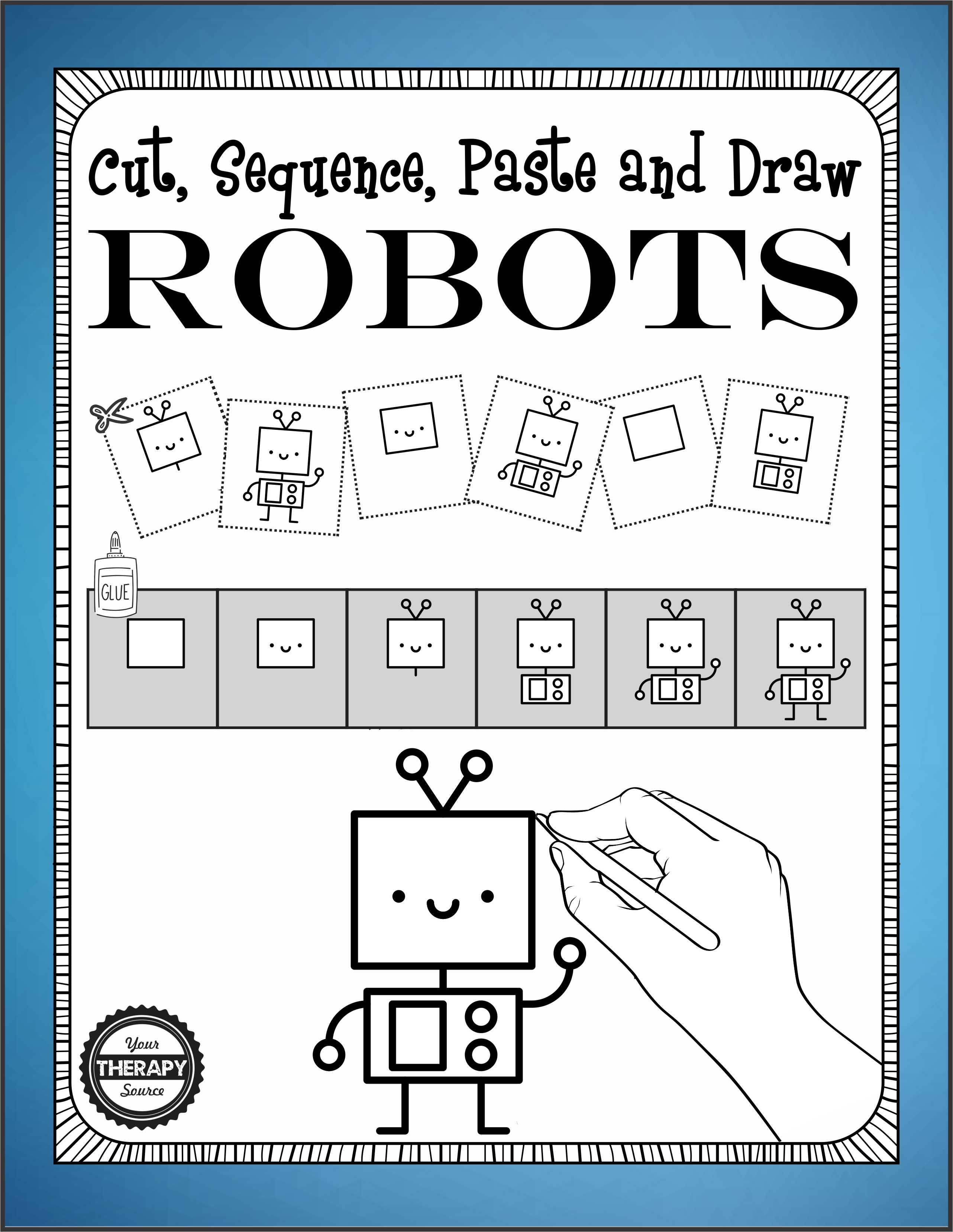 Cut Sequence Paste Draw Robots