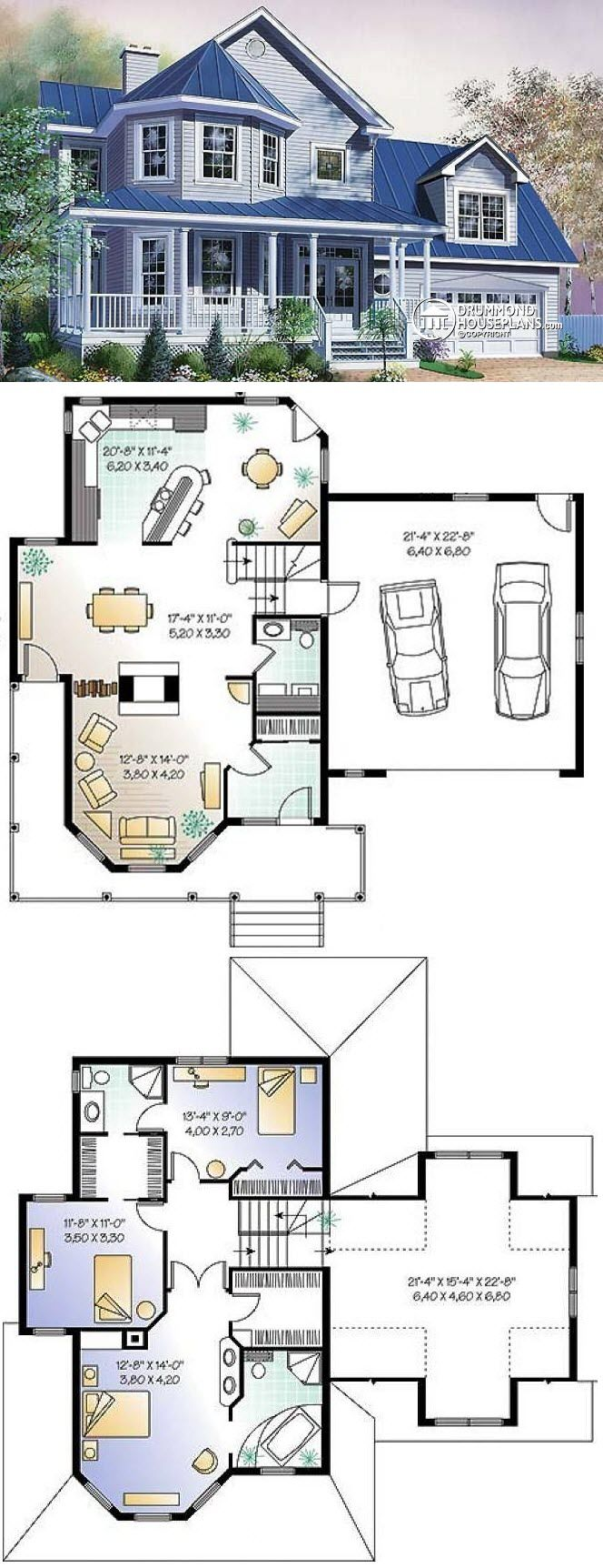 Photo of Lets take out that upstairs bath & walk-through closet & make that a deck. And n…