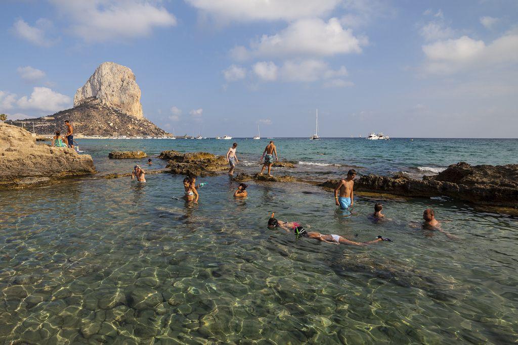 Banos De La Reina Calpe Calp Viajar Por Espana Piscinas