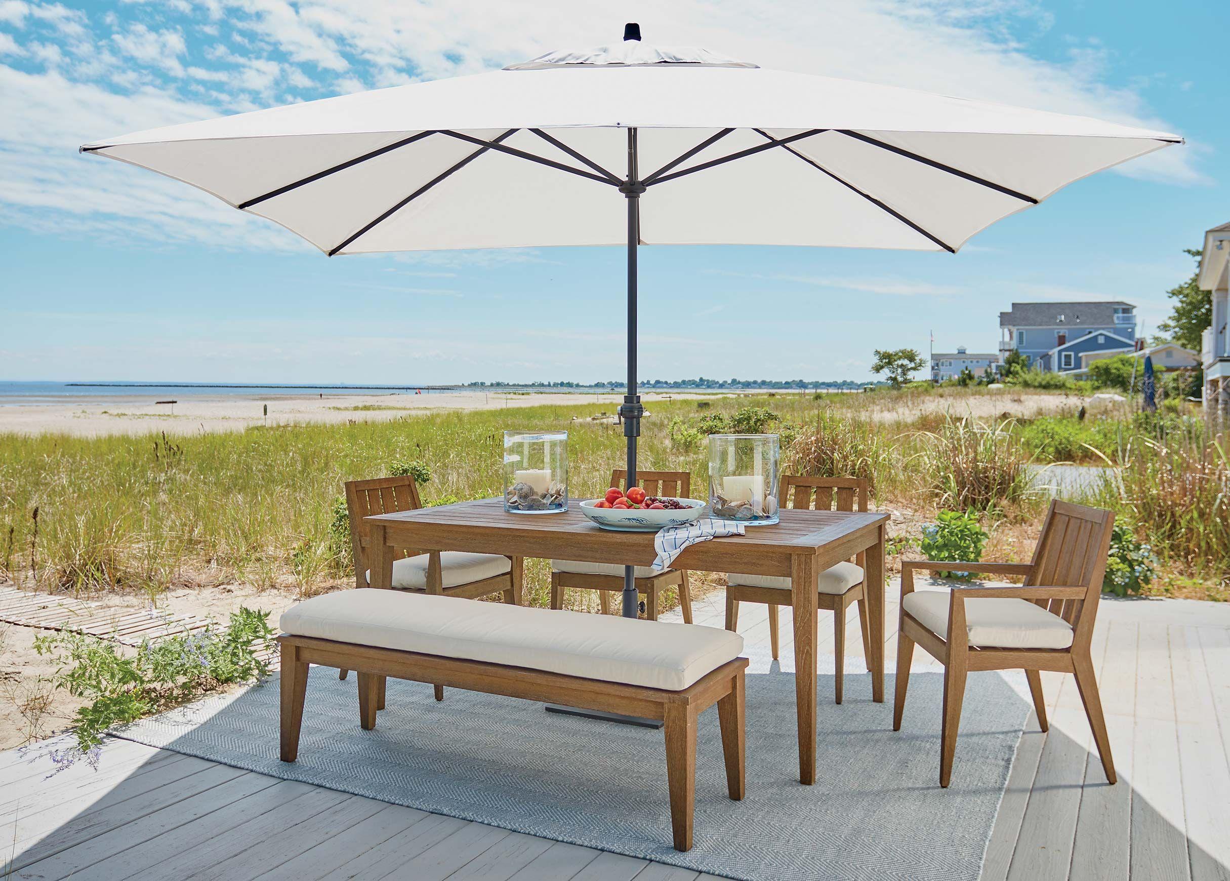 Bridgewater Cove Teak Collection Outdoor Dining Room Outdoor Dining Chairs Outdoor Dining
