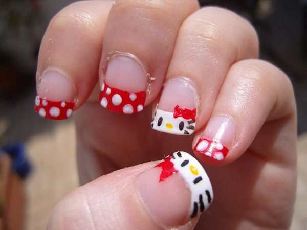 Perfect Girls Nail Designs · 20 Kittyu0027s Pretty Nails Ideas  Http://www.welovestyles.com/kittys