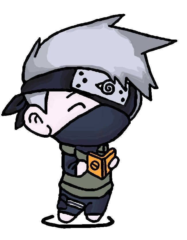 Image Result For Naruto Chibi Kakashi With Images Chibi