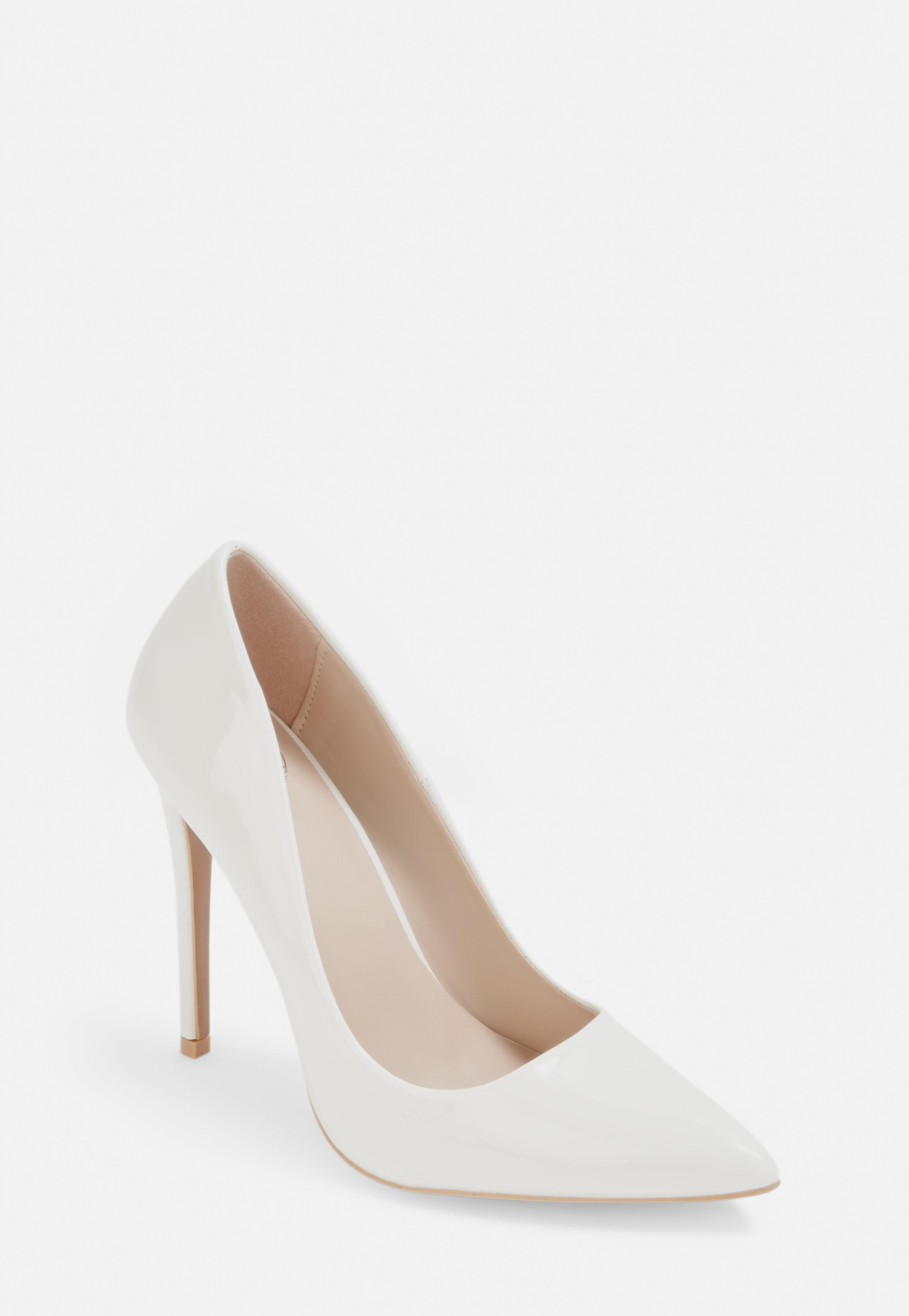 White Shoes With Heels en 2020