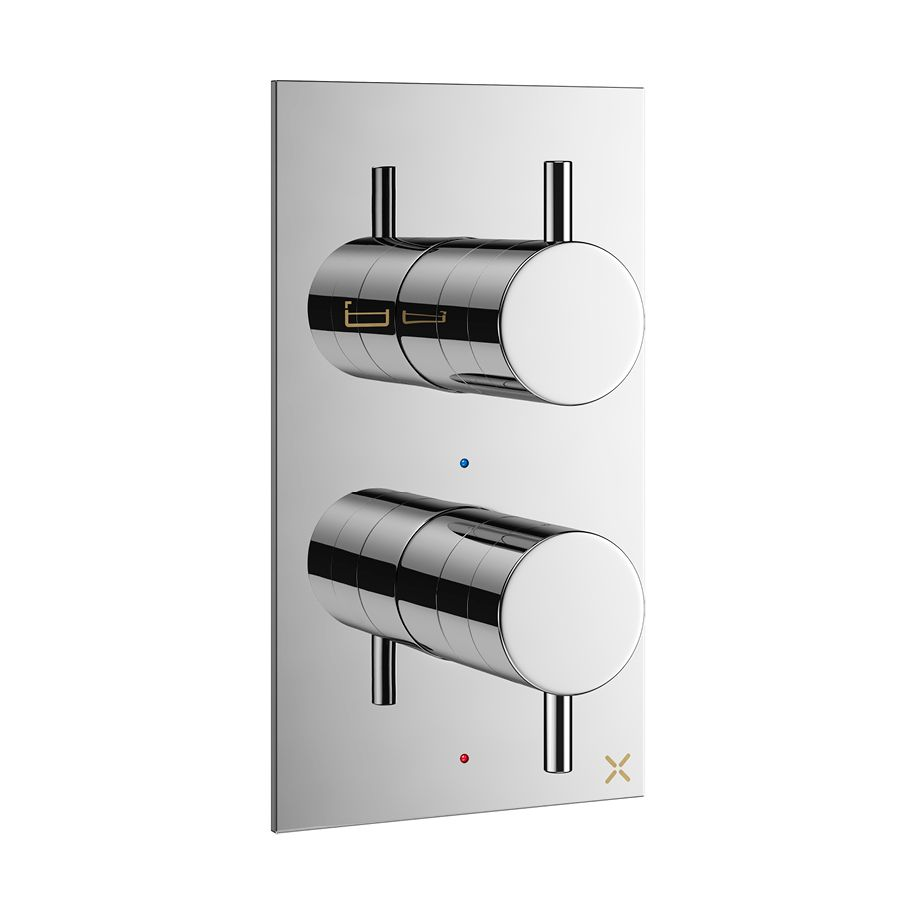 Mpro Thermostatic Shower Valve With 2 Way Diverter Shower Valve