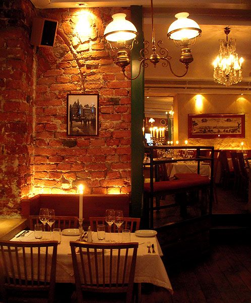 The Black Sheep (De Svarta Fren) restaurant in Stockholm's Old Town. Love  the