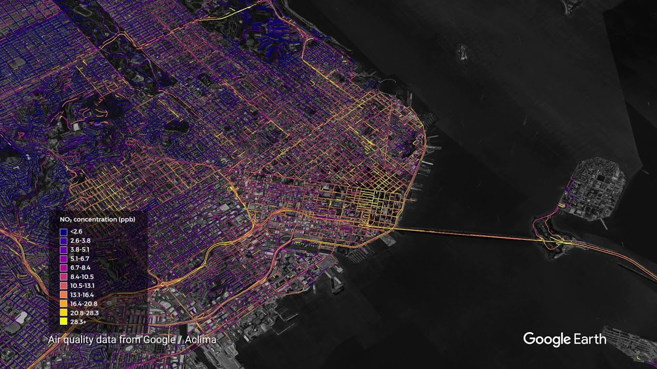 Getting hyperlocal Mapping streetlevel air quality