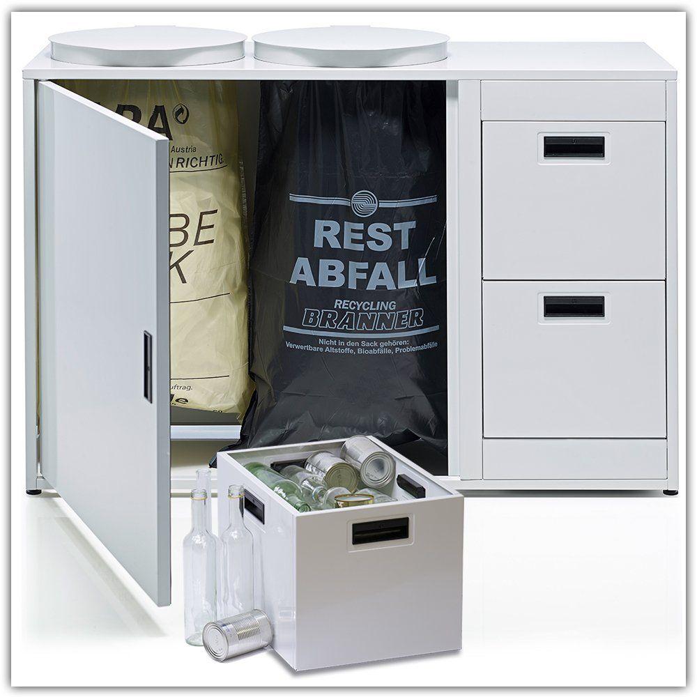 LEO schafft Ordnung, Müllsackständer, Müllbeutelhalter ...