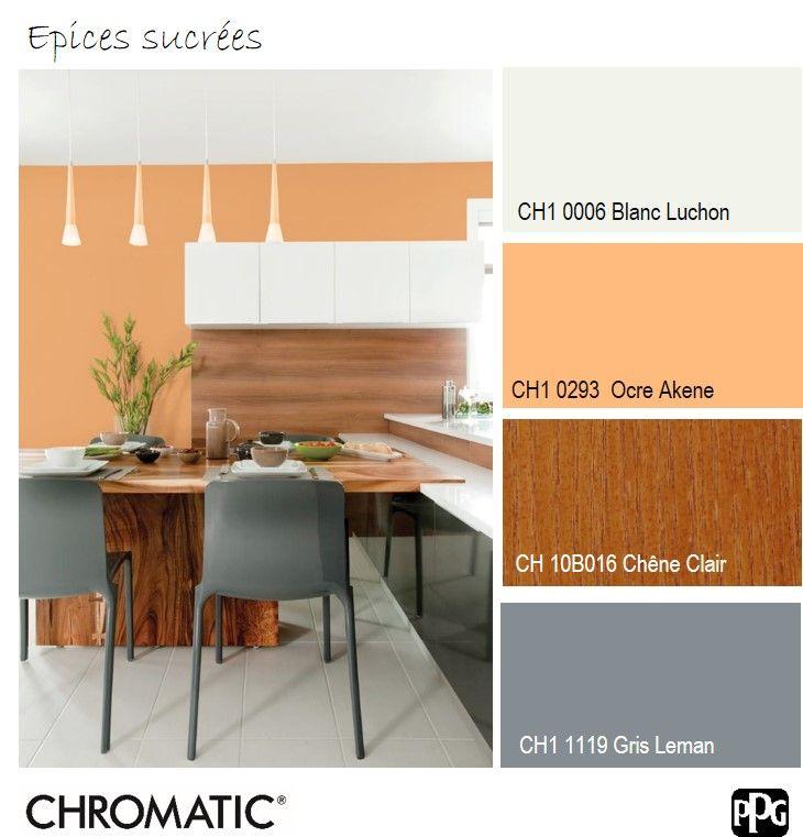 Une palette de couleurs sentant bon les agrumes et les pices sucr es id ale pour une cuisine - Palette de couleur pour cuisine ...