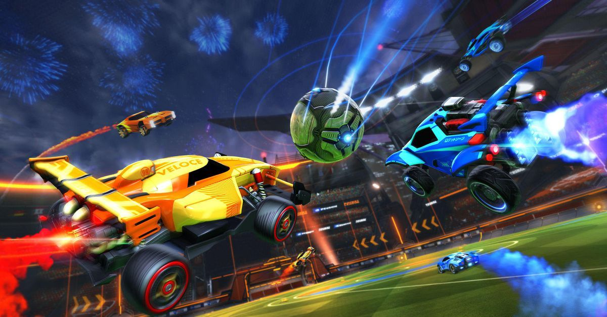 Polygon Rocket League gets full crossplatform play