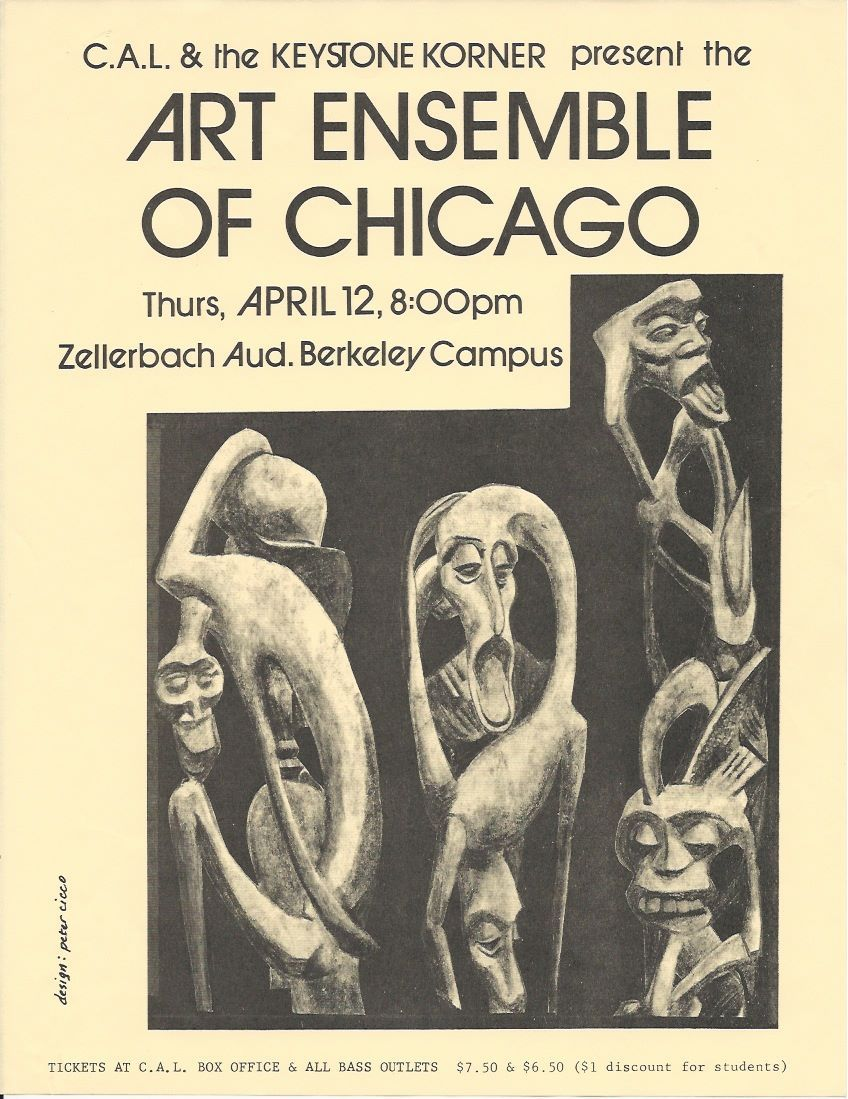 Art Ensemble of Chicago - U.C. Berkeley (Late 1970s) | Art Ensemble ...