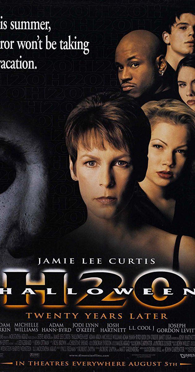 Halloween H20 20 Years Later (1998) IMDb Scary movies
