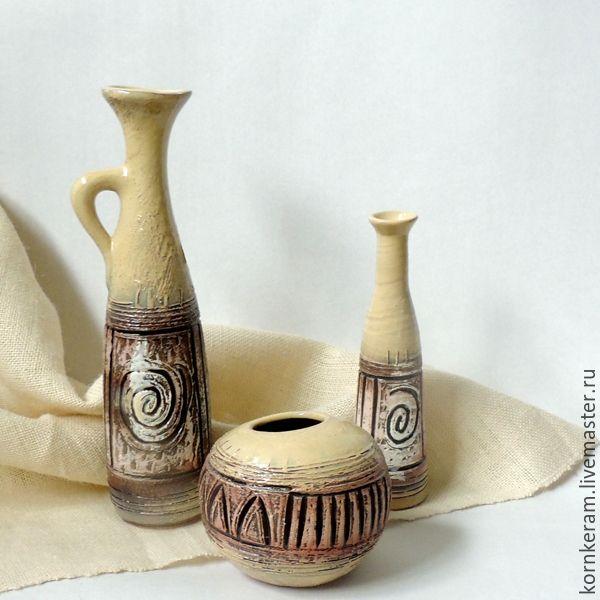 Фото ваз из керамики для цветов