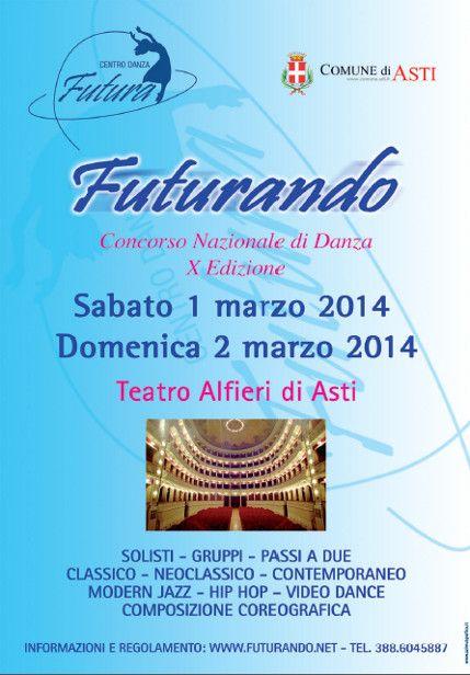 Futurando X Edizione - Concorso Nazionale di Danza « weekendinpalcoscenico la danza palco e web | IL PORTALE DELLA DANZA ITALIANA | weekendinpalcoscenico.it