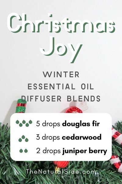Christmas Joy  Winter Essential Oil Diffuser Blends  Essential Oils via